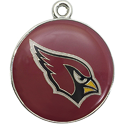Pet-Charm-NFL-Arizona Cardinals-Pet ID Tag-Pet Tag-FulgorDesign-FulgorPet
