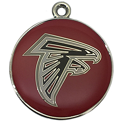 Pet-Charm-NFL-Atlanta Falcons-Pet ID Tag-Pet Tag-FulgorDesign-FulgorPet