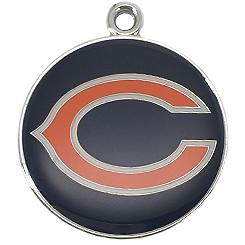 NFL-Chicago Bears-Pet ID Tag-Pet Tag-FulgorDesign-FulgorPet-Pet-Charm
