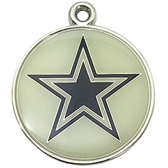 NFL-Dallas Cowboys-Pet ID Tag-Pet Tag-FulgorDesign-FulgorPet-Pet-Charm