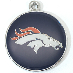 NFL-Denver Broncos-Pet ID Tag-Pet Tag-FulgorDesign-FulgorPet-Pet-Charm