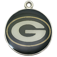NFL-Green Bay Packers-Pet ID Tag-Pet Tag-FulgorDesign-FulgorPet-Pet-Charm