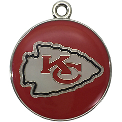 Pet-Charm-NFL-Kansas City Chiefs-Pet ID Tag-Pet Tag-FulgorDesign-FulgorPet