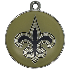 Pet-Charm-NFL-New Orleans Saints-Pet ID Tag-Pet Tag-FulgorDesign-FulgorPet