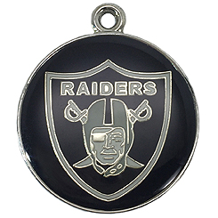 NFL-Oakland Raiders-Pet ID Tag-Pet Tag-FulgorDesign-FulgorPet-Pet-Charm
