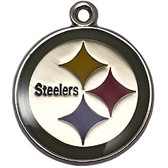 Pet-Charm-NFL-Pittsburgh Steelers-Pet ID Tag-Pet Tag-FulgorDesign-FulgorPet
