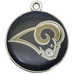 NFL-St.Louis Rams-Pet ID Tag-Pet Tag-FulgorDesign-FulgorPet-Pet-Charm