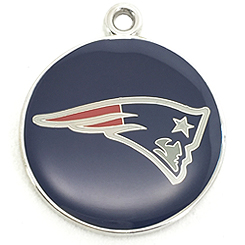 NFLNE Patriots-Pet ID Tag-Pet Tag-FulgorDesign-FulgorPet-FulgorJewel-Pet-Charm