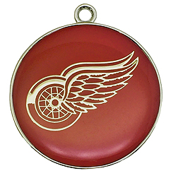 NHL-Detroit Red Wings-Pet ID Tag-Pet Tag-FulgorDesign-Pet-Charm