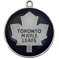 Pet-Charm-NHL-Toronto Maple Leafs-Pet ID Tag-Pet Tag-FulgorDesign