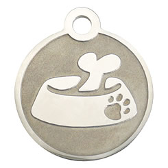 Bowl-Stainless-Steel-Pet-ID-Tag-FulgorPet-NoCrystal