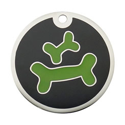 Enamel-Color-Bone-Pet-ID-Tag-FulgorPet