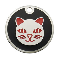 Enamel-Color-Cat-Pet-ID-Tag-FulgorPet