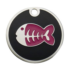 Enamel-Color-Fish-Pet-ID-Tag-FulgorPet