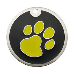 Enamel-Color-Paw-Pet-ID-Tag-FulgorPet
