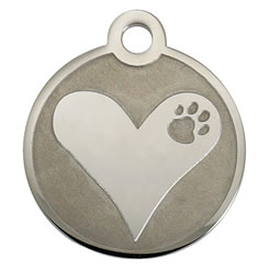 Heart-Stainless-Steel-Pet-ID-Tag-FulgorPet-NoCrystal