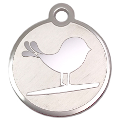 Stainless-Steel-Brud-Pet ID Tag-Pet Tag-FulgorDesign